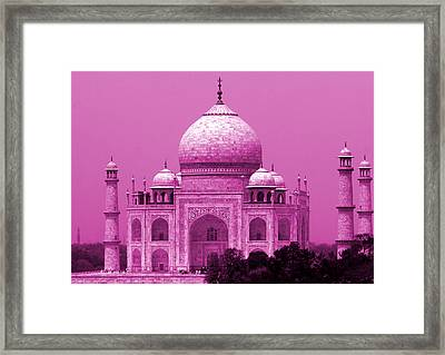 Taj Mahal - India Framed Print by Aidan Moran