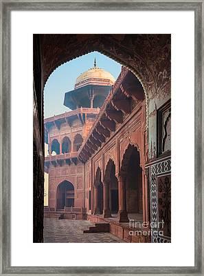 Taj Mahal Jawab Framed Print by Inge Johnsson