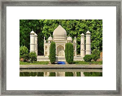 Taj Mahal Framed Print by Ricky Barnard