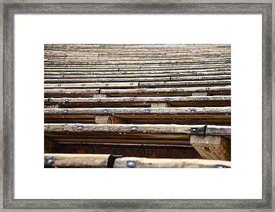 Take A Seat Framed Print by Charlie Brock
