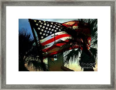 Take Back America Framed Print by Beverly Guilliams