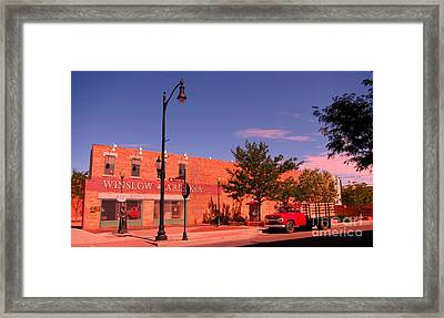 Take It Easy Song Framed Print by John Malone