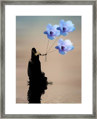 Take Me Away Framed Print by Sharon Lisa Clarke