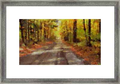 Take Me Home Country Roads Framed Print by Dan Sproul