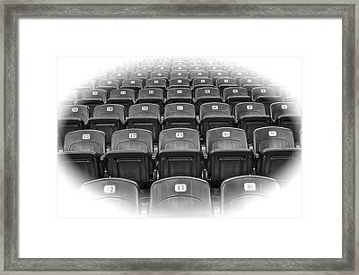 Take Me To To The Ball Game Framed Print by Frozen in Time Fine Art Photography