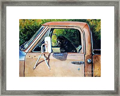Take Me With You Framed Print by Molly Poole