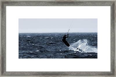 Take Off Framed Print by Dan Sproul
