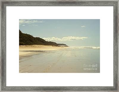 Take Off Framed Print by Linda Lees