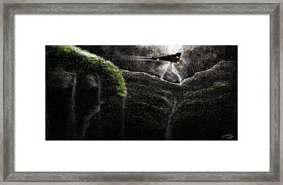 Take-off Framed Print by Sasank Gopinathan