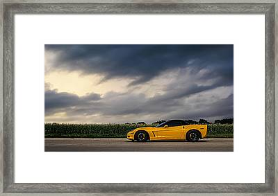 Take The Long Way Framed Print by Douglas Pittman