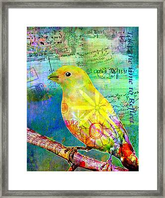 Take The Time To Reflect Framed Print by Robin Mead