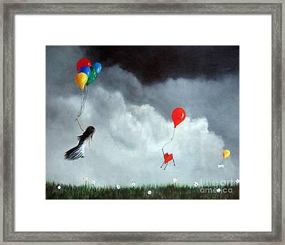 Take Us Home By Shawna Erback Framed Print by Shawna Erback