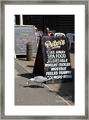 Robbing Peter To Pay Paul Framed Print by James Brunker