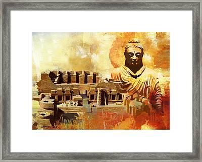 Takhat Bahi Unesco World Heritage Site Framed Print by Catf