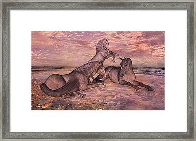 Taking It Easy Framed Print by Betsy C Knapp
