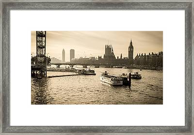 Tale Of Two Cities Framed Print by Glenn DiPaola