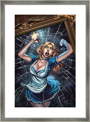 Tales From Wonderland Alice  Framed Print by Zenescope Entertainment