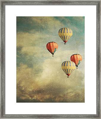 Tales Of Far Away Framed Print by Violet Gray