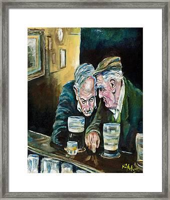 Talking Treason Framed Print by Kevin McKrell