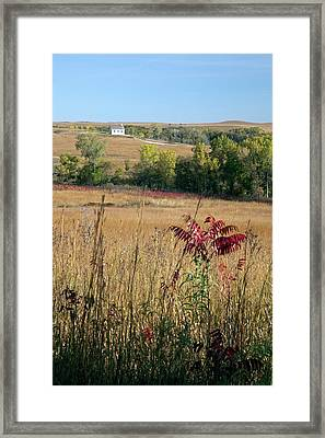 Tallgrass Prairie Framed Print by Jim West