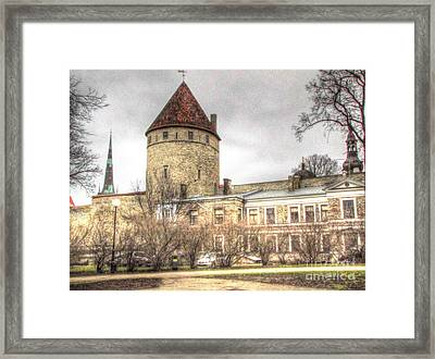 Tallin  Autum Framed Print by Yury Bashkin