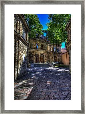Tallin - Estonia Framed Print by Jon Berghoff