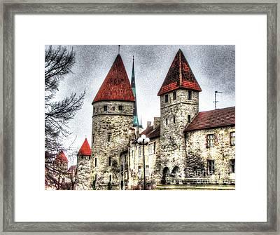 Tallin Old Town1 Framed Print by Yury Bashkin