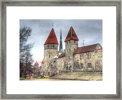 Tallin Old Town4 Framed Print by Yury Bashkin