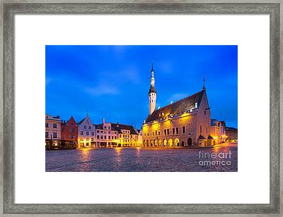 Tallinn 03 Framed Print by Tom Uhlenberg