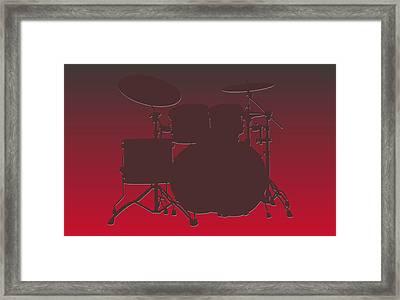 Tampa Bay Buccaneers Drum Set Framed Print by Joe Hamilton