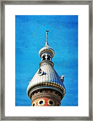 Tampa Beauty - University Of Tampa Photography By Sharon Cummings Framed Print by Sharon Cummings