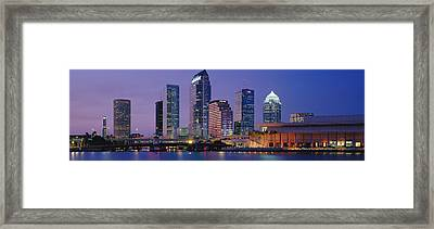 Tampa Fl Usa Framed Print by Panoramic Images