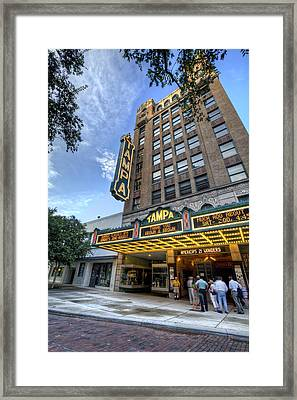 Tampa Theater 2 Framed Print by Al Hurley