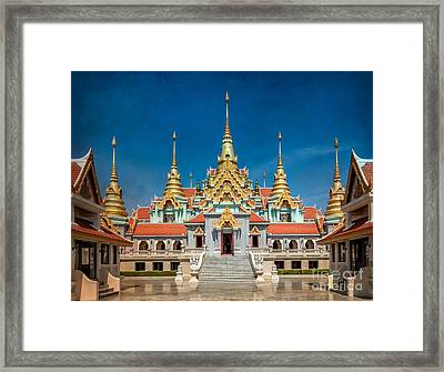Tang Sai Temple Framed Print by Adrian Evans