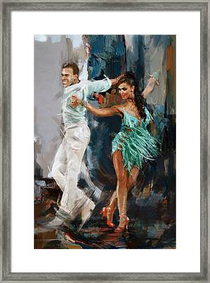 Tango 4 Framed Print by Mahnoor Shah