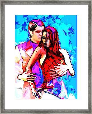 Tango Argentino - Love And Passion Framed Print by Reno Graf von Buckenberg