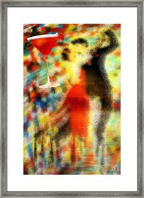 Tango As The Sunset Framed Print by Pierre Louis