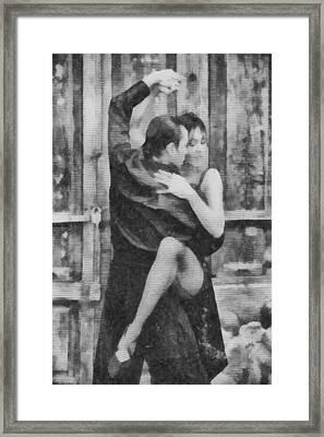 Tango Framed Print by Ayse Deniz