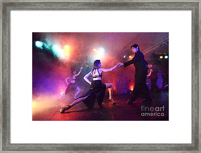Tango Buenos Aires Argentina 2 Framed Print by Bob Christopher