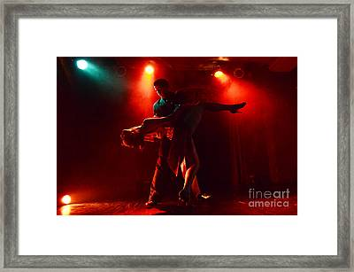 Tango Buenos Aires Argentina 3 Framed Print by Bob Christopher