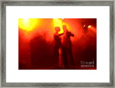 Tango Buenos Aires Argentina 6 Framed Print by Bob Christopher