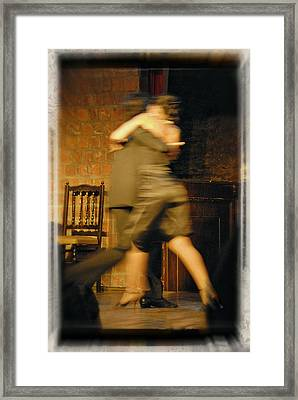 Tango Connection Framed Print by Steven Boone