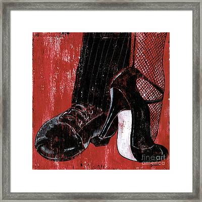 Tango Framed Print by Debbie DeWitt
