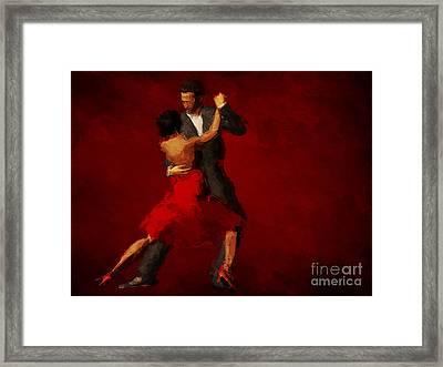 Tango Framed Print by John Edwards