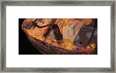 Tank Framed Print by Murray Bloom