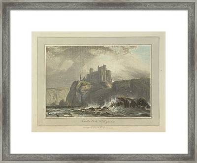 Tantallon Castle Framed Print by British Library