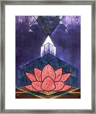 Tantra Urdhvagamana Framed Print by Renu K