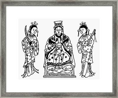 Taoism Matsu P'o Framed Print by Granger