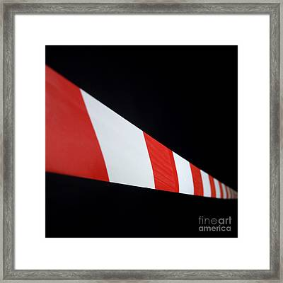 Tape  Framed Print by Bernard Jaubert
