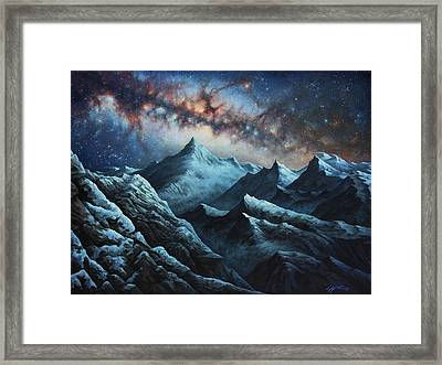 Tapestry Of Time Framed Print by Lucy West
